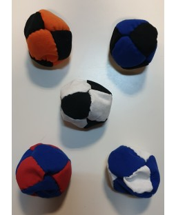Oddballs Sand Filled Footbags - 8 panel