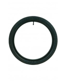 """Qu-Ax Freestyle Unicycle Tyre - 20"""" - Black"""