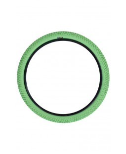 """Qu-Ax Freestyle Unicycle Tyre - 20"""" - Green"""