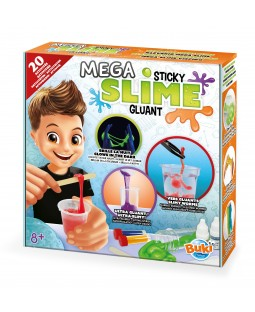 BUKI Mega Sticky Slime Science Kit