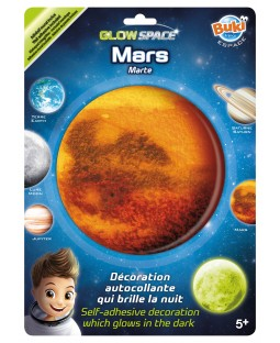 BUKI Glow In The Dark Mars Ceiling Sticker
