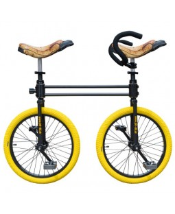 QU-AX Twin Uni Bi-Clown Bike