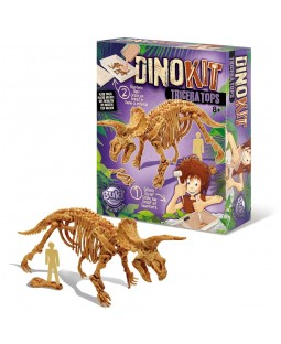 BUKI Dinosaur Model Kit - Triceratops