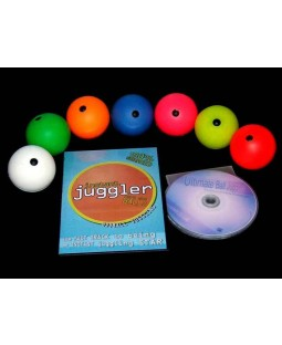 7 x MMX Balls + Ultimate Ball Juggling DVD + Instant Juggler- Balls DVD