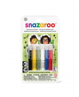 Snazaroo Snaz Face Painting Sticks Sets - Rainbow