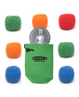 7 x Juggle Dream Mini Uglies + Oddballs Instant DVD + Juggle Dream Bag