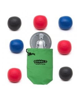 7x Juggle Dream Pro Sport juggling ball 110 gram + Oddballs Instant Ball DVD + Juggle Dream Ball Bag