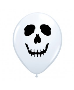 "Qualatex 5"" Scary Skull Face Ballons"
