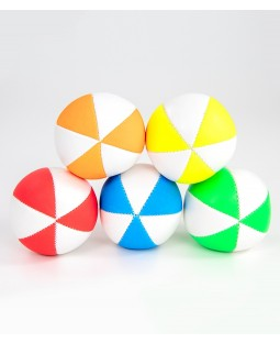 Juggle Dream Pro 6 Panel Star UV Juggling Ball With White
