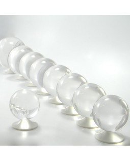 Juggle Dream 60mm Clear Acrylic Contact Juggling Ball
