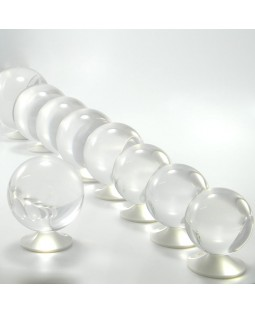 Juggle Dream 75mm Clear Acrylic Contact Juggling Ball