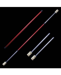 Fyrefli Leopard Telescopic Fire Staff - 1m - 1.5m (65mm Resevoir Wick)