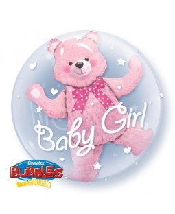 "Qualatex 24"" 'Baby Bear' Double Bubble Balloon (various)"