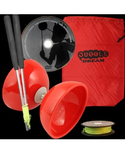 Juggle Dream Big Top Bearing Diabolo, Ali Dream Handsticks, 10m String, DVD & Bag