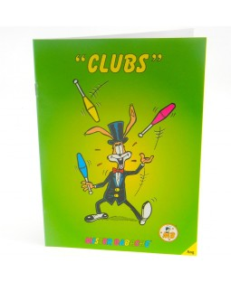 Mr. Babache Club Juggling Booklet (Juggling Book)