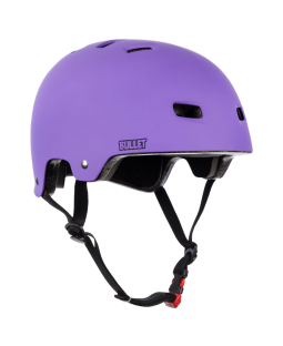 Bullet Helmet Matt Purple