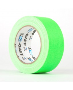 Fluo Matt Cloth Gaff Tape - Hoop Accessories - 50mm x 25m