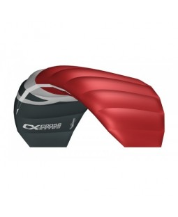 Cross Kites. Boarder 1.5 - RED. Inc' 2 line control bar.