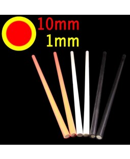 Coloured Silicon Devilstick Handsticks (Thin)