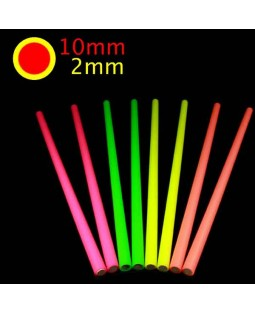 Fluorescent Silicon Devilstick Handsticks (Medium)