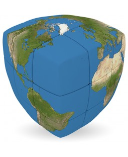 V-Cube EARTH - 2 x 2 x 2 Pillow Cube