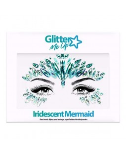 Glitter me Up - Face Jewels (Iridescent Mermaid) - SINGLE PACK