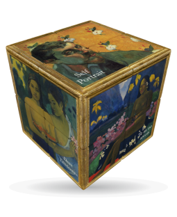 V-Cube 3 x 3 x 3 Gaugin Puzzle Cube - Black Friday Special