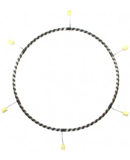 Gora 6 section Fire Hula Hoop