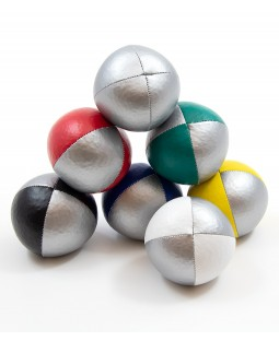 Oddballs Silver / Colours Pro Thud Juggling Ball 120g