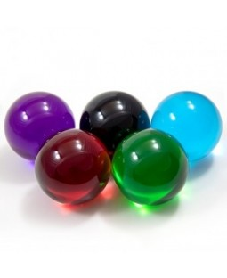 Coloured Acrylic Contact Juggling Ball 75mm - Various colours - Bargain basement