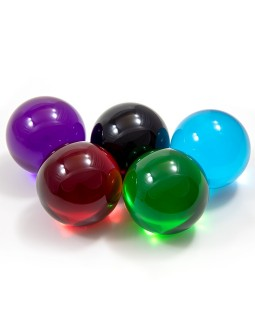 90mm Coloured Acrylic Ball - Contact Juggling