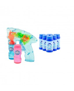 Indy Bubble Bundle - 2pc Indy LED Bubble Gun and 10pc Refill
