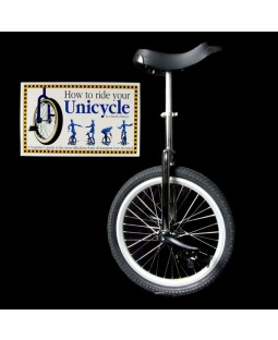 "Indy 20"" Freestyle Unicycle and Free 'How To Ride Your Unicycle' Book"