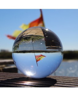 Juggle Dream Crystal Clear 85mm Acrylic Ball