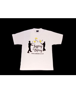 Oddballs T-Shirt - Juggling is Catching - White