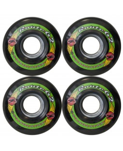 Kryptonics Route Longboard Wheels - 62mm / 78A - Various Colours Available
