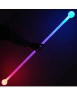 Juggle-Light LED Thick Staff 'Multi light' (No Ball Ends)