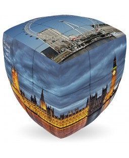 V-Cube LONDON - 2 x 2 x 2 Pillow Cube