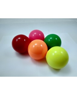 Bargain Basement - Set of 5, Play Sil-x 74mm Balls