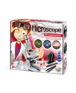 BUKI Microscope Kit with 30 Experiments