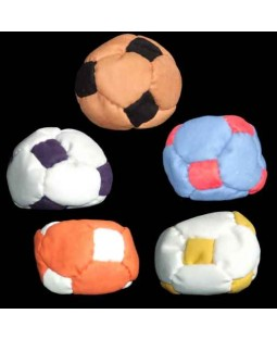 Oddballs Sand Filled Footbag - 14 panel football style