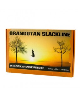 Orangutan Slackline - 15m - 50mm - Black Friday Special