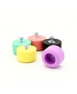 Play Flat Juggling Club Knob - Various Colours Available