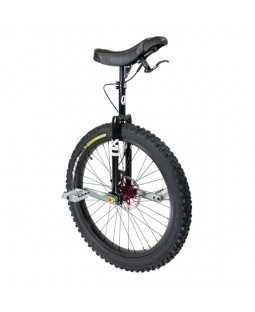 "Qu-Ax QX Muni 24"" Disc Brake Unicycle - Q-AXLE system"
