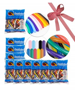 Qualatex 260Q Traditional Balloon Selection - 10 BAGS - RRP - £69.99