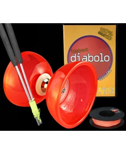 Cyclone Quartz 2, Ali sticks, string and Instant Diabolo DVD.