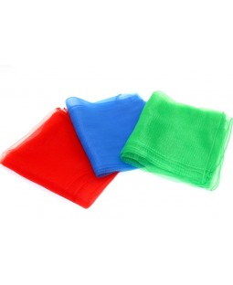 Red / Blue / Green Juggling Scarves