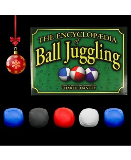5 x Juggle Dream Pro sport balls and Ball Encyclopaedia