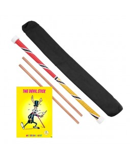 Stunt Devil Stick, Control Sticks, Bag and Instructional Book