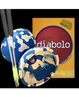 Super Starter Diabolo Pack with Jester Diabolo, handsticks and a DVD
